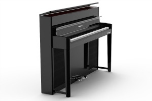 CUP2A cabinet Kurzweil CUP2A Digital Piano - Polished Ebony Kurzweil CUP2A Digital Piano - Polished Ebony cup2a open